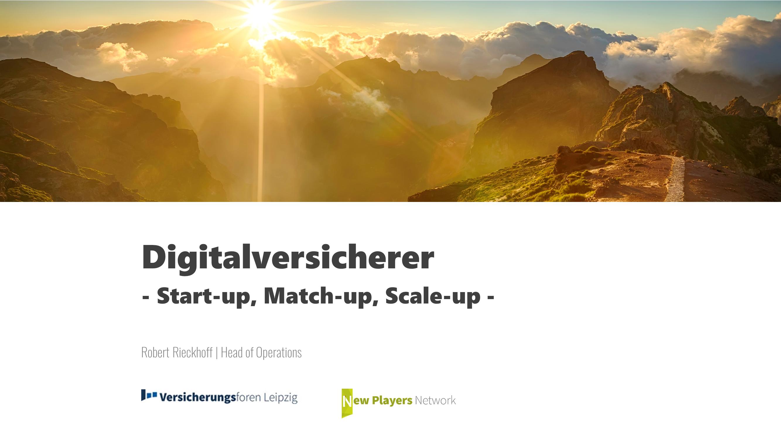 Web Based Training: Digitalversicherer