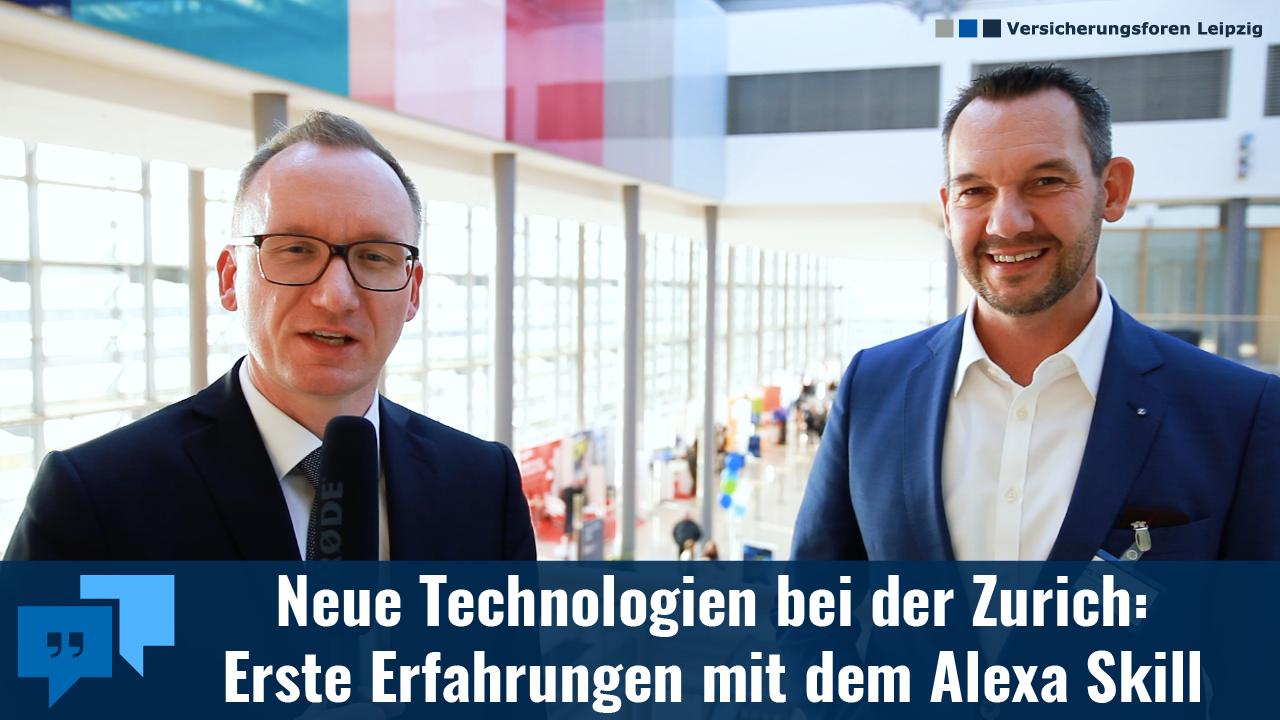 Alexa im Versicherungsvertrieb: Wie die Zurich Versicherung den Sprachassistenten einbindet