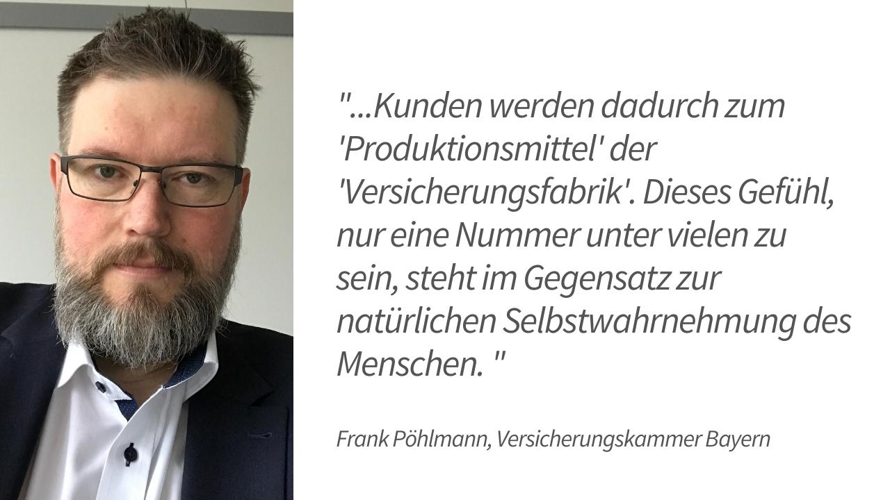 Kundenzentrierung bei der VKB – Experteninterview mit Frank Pöhlmann