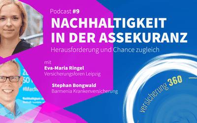 Podcast #9: Nachhaltigkeit in der Assekuranz – Herausforderung und Chance zugleich