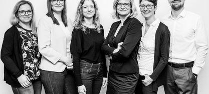 Teamfoto des Teams Aktuariat, Produkt- und Risikomanagement