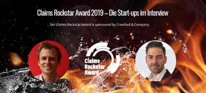 Claims Rockstar Award 2019 – Die Start-ups im Interview(2) Claims Rockstar Award 2019 – Die Start-ups im Interview(2)