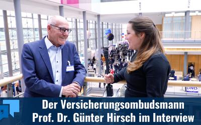 Hat die Versicherungsbranche den schlechten Ruf verdient? – Im Interview mit Prof. Dr. Günter Hirsch