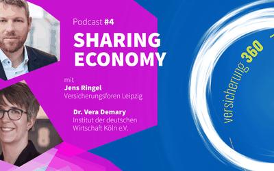 Podcast #4: Sharing Economy – Megatrend mit Potenzial für die Assekuranz