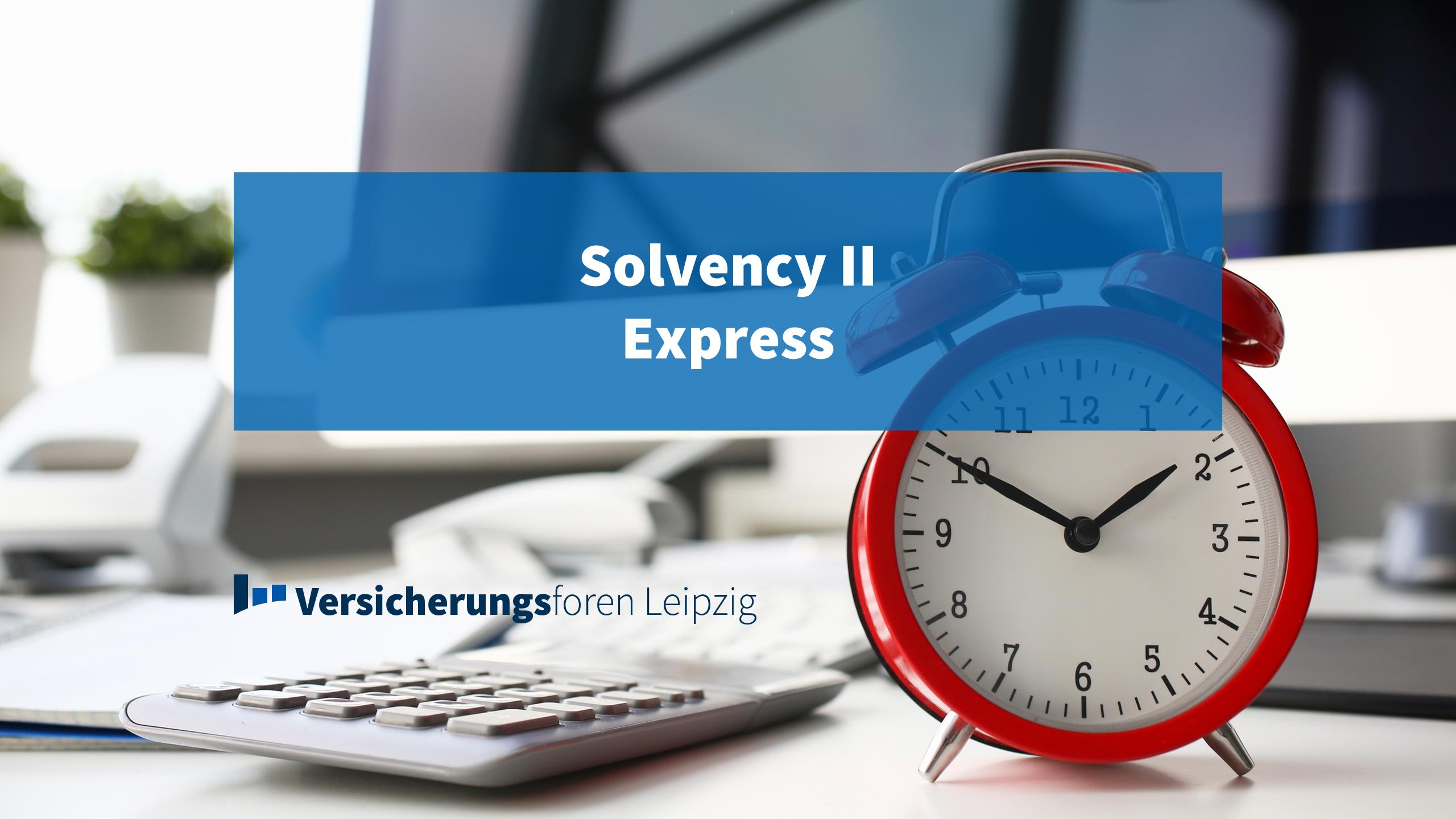 Web Based Training: Solvency II Express