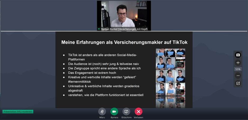 Vortrag Bastian Kunkel (Versicherungen mit Kopf)