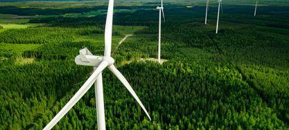 Bild von Windkraftanalagen