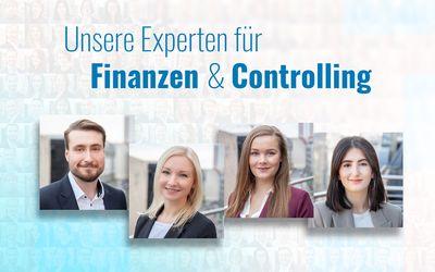 Das sind WIR – Unser Kompetenzteam Finanzen & Controlling