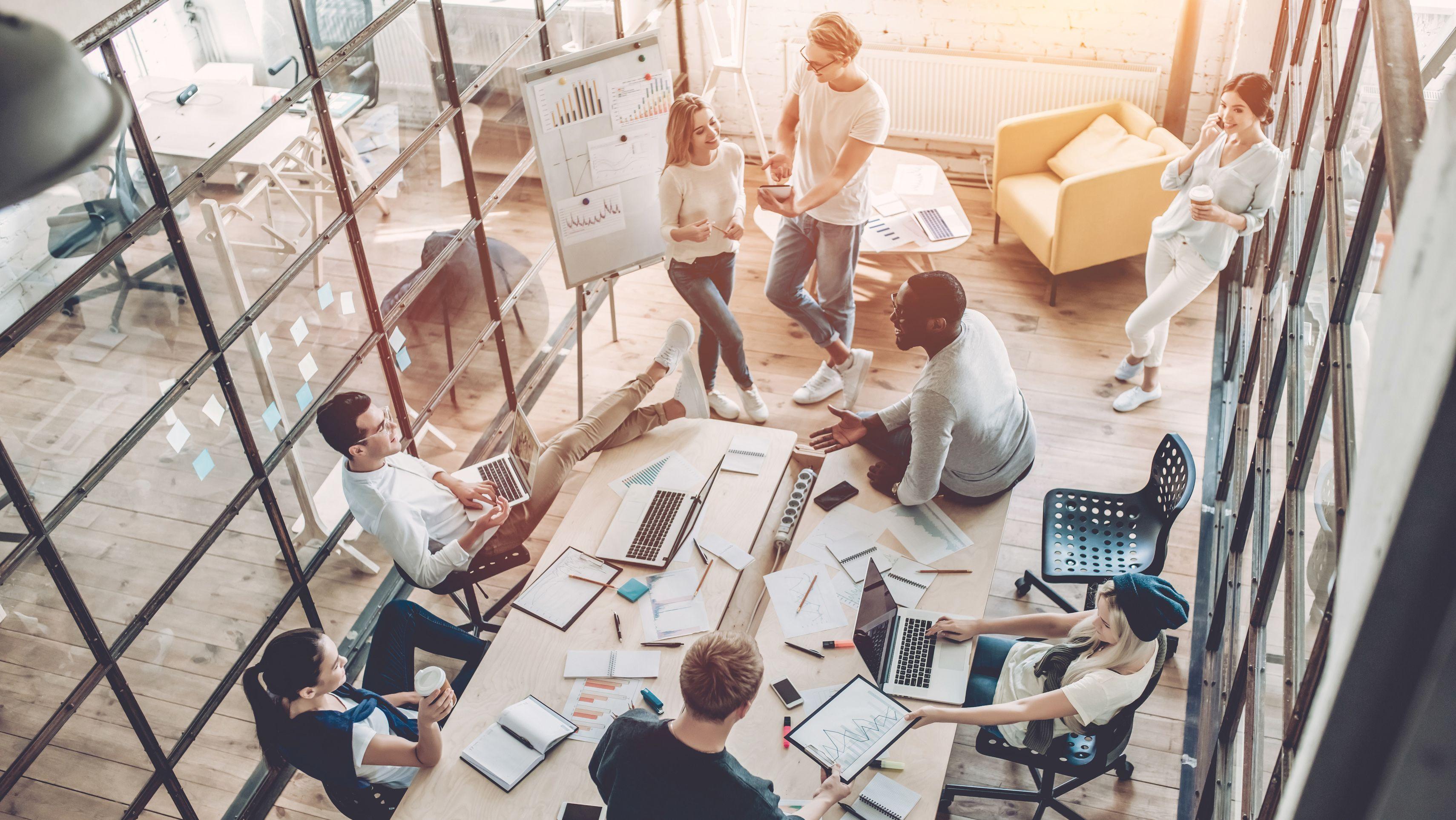 Neue Arbeitswelten: Versicherer auf dem Weg zu New Work
