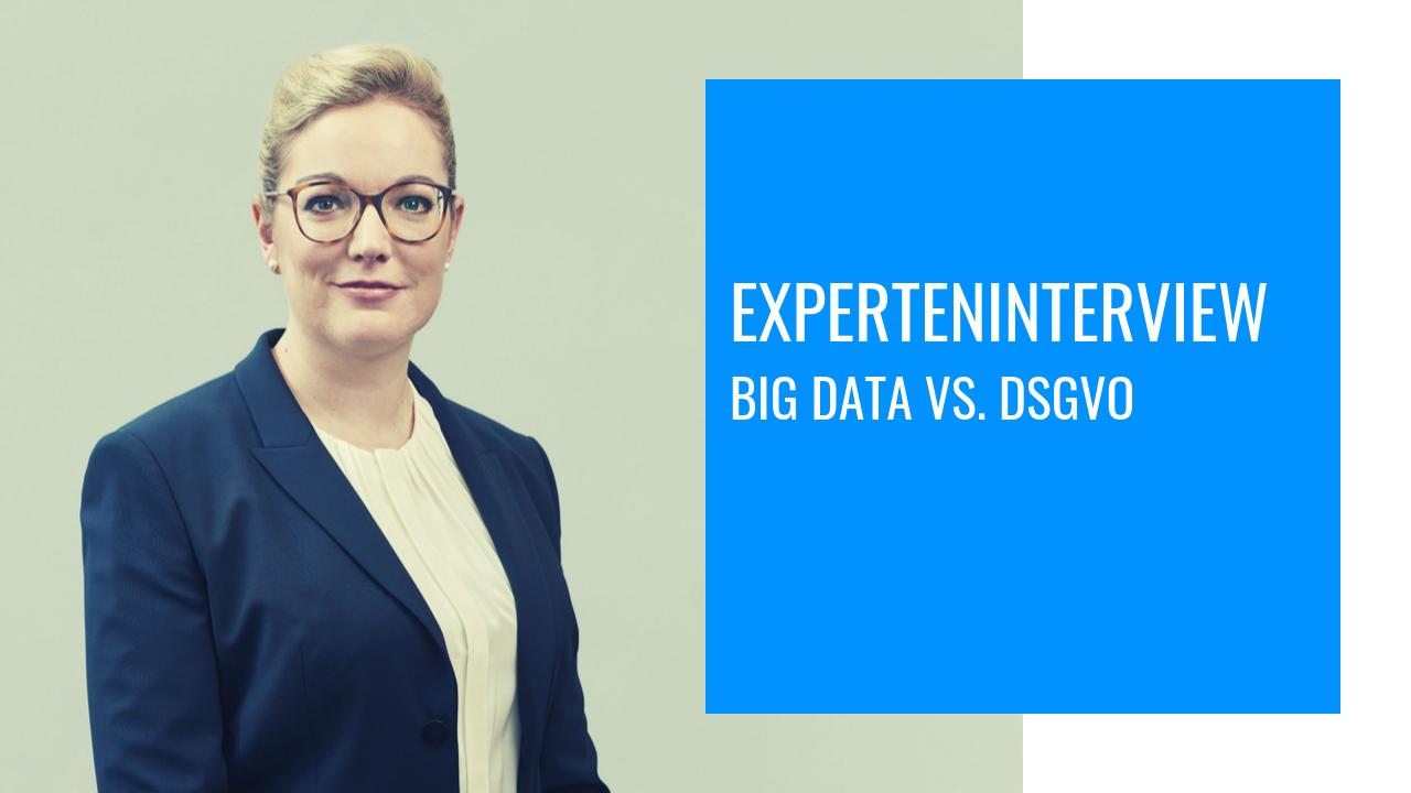 Big Data und Datenschutz – passt das zusammen?
