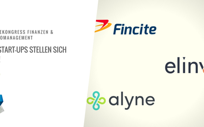 Start-up Pitches zum Messekongresses Finanzen & Risikomanagement