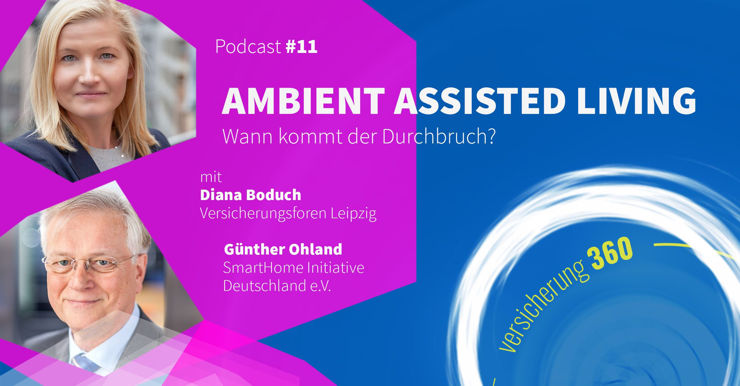 Podcast #11: Ambient Assisted Living – wann kommt der Durchbruch?