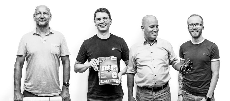 Teamfoto des Teams Digitalisierung und Innovation